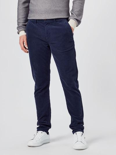 BOSS Casual Chino kalhoty 'Schino-Taber' - námořnická modř, Model/ka