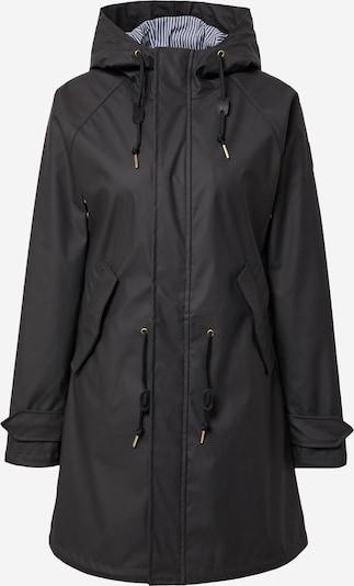 Derbe Manteau mi-saison en noir, Vue avec produit