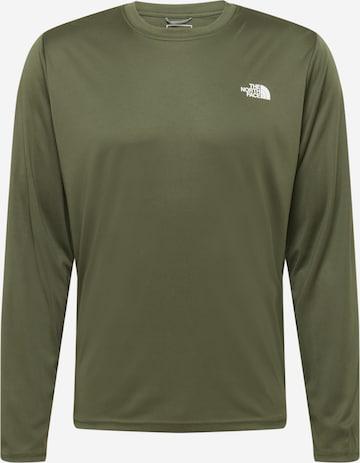 THE NORTH FACE Funksjonsskjorte 'Reaxion Amp' i grønn