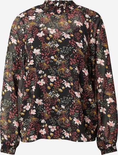 ONLY Bluse 'STAR' in senf / grün / rosa / pitaya / schwarz, Produktansicht