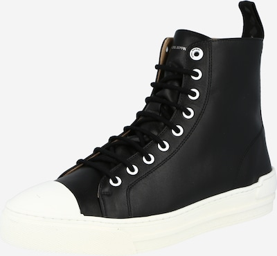 fekete / fehér ROYAL REPUBLIQ Magas szárú edzőcipők, Termék nézet