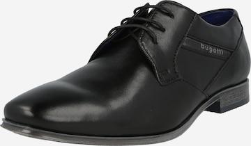 bugatti Lace-up shoe in Black