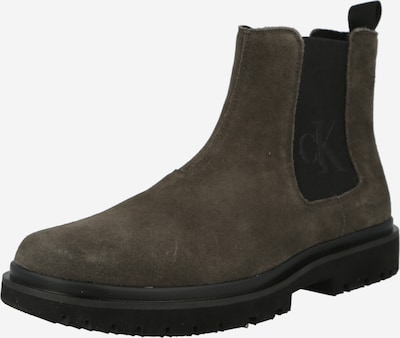 Calvin Klein Chelsea boots in Olive / Black, Item view