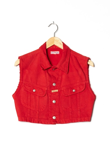 REPLAY Jeansweste in M in Rot
