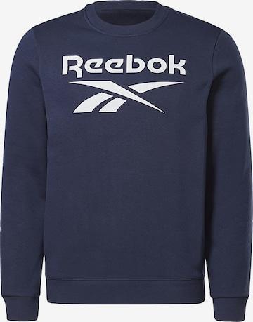Sweat de sport Reebok Sport en bleu