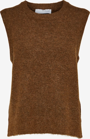 SELECTED FEMME Pullover 'Lulu' in karamell, Produktansicht