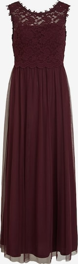 VILA Večerné šaty - baklažánová, Produkt