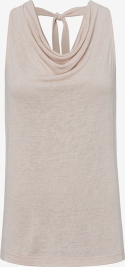 zero Top in beige, Produktansicht