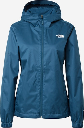 THE NORTH FACE Outdoorjas 'Quest' in de kleur Donkerblauw / Wit, Productweergave
