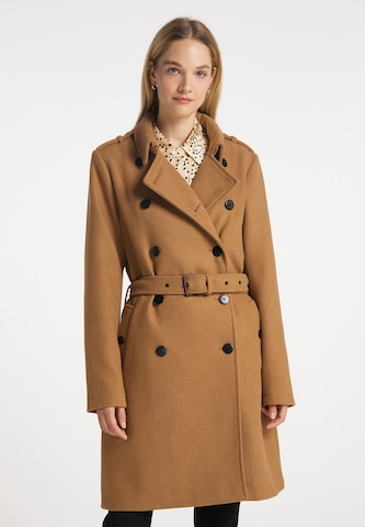 DreiMaster Klassik Between-Seasons Coat in Beige