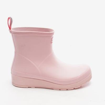 HUNTER Stiefeletten in 42 in rosa, Produktansicht