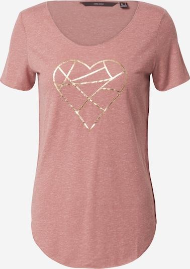 Marškinėliai 'LUA' iš VERO MODA , spalva - sidabro pilka / ryškiai rožinė spalva: Vaizdas iš priekio