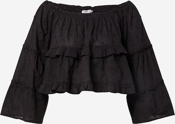 ABOUT YOU Bluse 'Clara' i svart