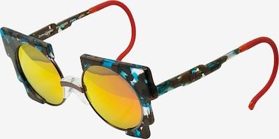 Zoobug Retrosonnenbrille 'Oscar' für Kinder in braun / mischfarben, Produktansicht