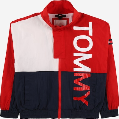 TOMMY HILFIGER Between-season jacket 'BOLD TOMMY JACKET' in navy / red, Item view
