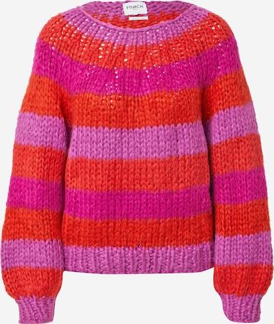 FRNCH PARIS Džemperis 'Nermin', krāsa - oranžs / rozā / tumši rozā, Preces skats