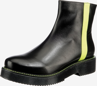 GERRY WEBER Ankle Boots 'Malaga' in Yellow / Black, Item view