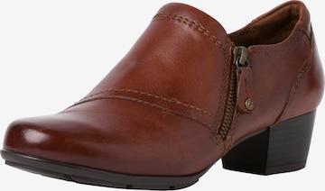 Escarpins à plateforme JANA en marron