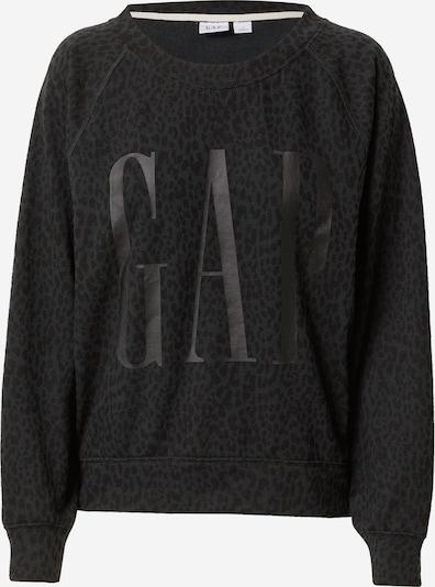 GAP Sweat-shirt en gris foncé / noir, Vue avec produit