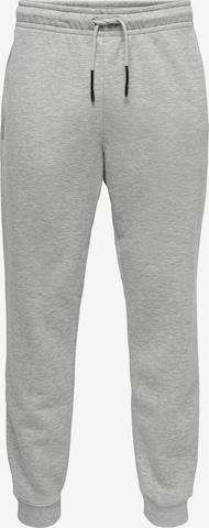 Pantalon 'CERES' Only & Sons en gris