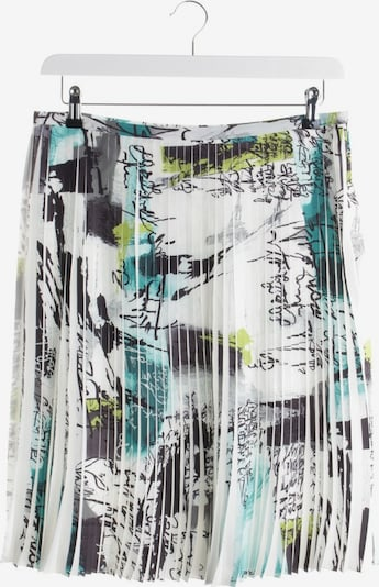 D-Exterior Skirt in M in Turquoise / White, Item view