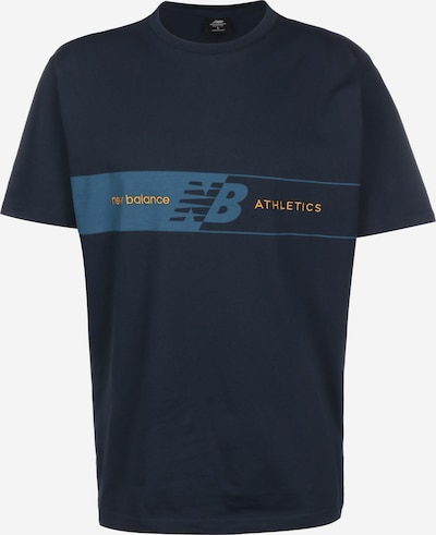 new balance Shirt 'MT01510' in dunkelblau, Produktansicht
