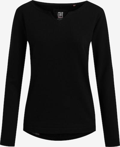 Shirts for Life Sweatshirt 'Parma' in schwarz, Produktansicht
