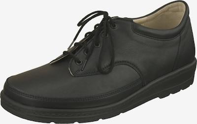 Natural Feet Schnürschuh 'Paris' mit komfortabler J-Weite in schwarz, Produktansicht