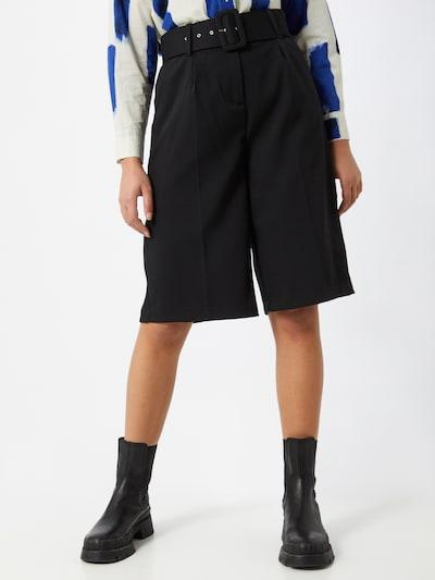 VERO MODA Voltidega püksid 'JULIE' must, Modellivaade