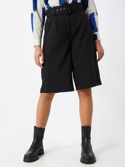 VERO MODA Pleat-front trousers 'JULIE' in black, View model
