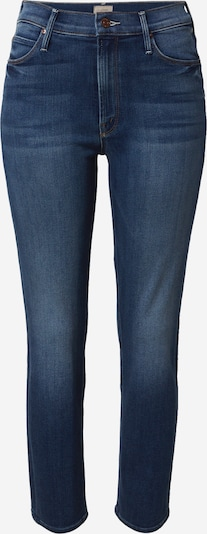 MOTHER Jean 'The Mid Rise Dazzler Ankle' en bleu denim, Vue avec produit