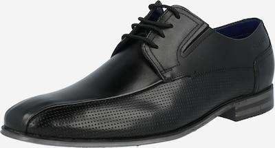 bugatti Zapatos con cordón 'Mattia II' en negro, Vista del producto