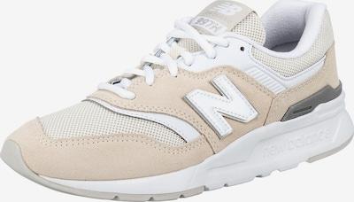 Sneaker low new balance pe bej / alb, Vizualizare produs