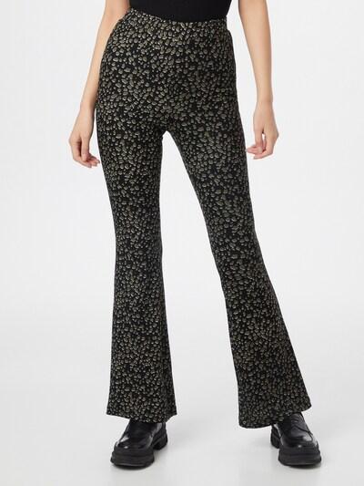 VILA Pantalon 'WINNER' en kaki / noir / blanc, Vue avec modèle