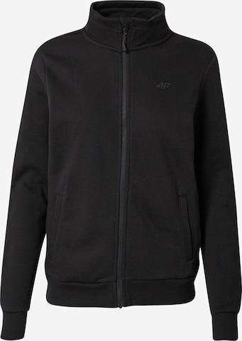 4F Sportlik trikoojakk, värv must