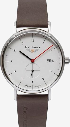 Bauhaus Uhr in weiß, Produktansicht