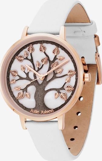 Julie Julsen Uhr in rosegold / weiß, Produktansicht