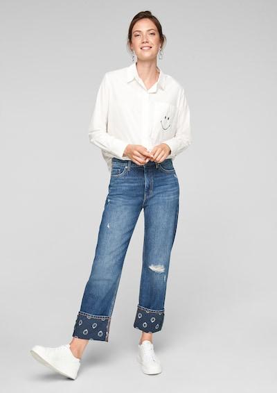 s.Oliver Jeans in blau / blue denim, Modelansicht