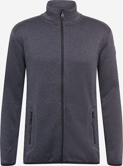 Whistler Fleecejacke in grau, Produktansicht