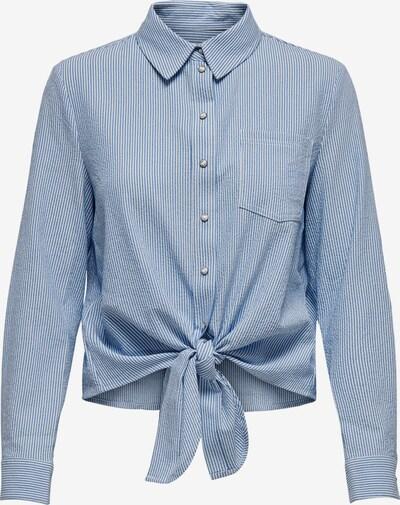 ONLY Shirt 'LECEY' in blau / weiß, Produktansicht