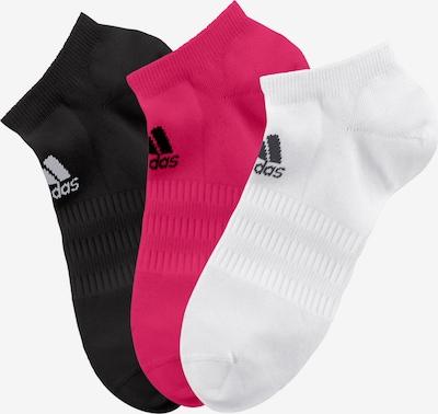 ADIDAS PERFORMANCE Športne nogavice | magenta / črna / bela barva, Prikaz izdelka