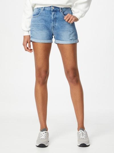 REPLAY Jeans 'ANYTA' in de kleur Blauw denim, Modelweergave
