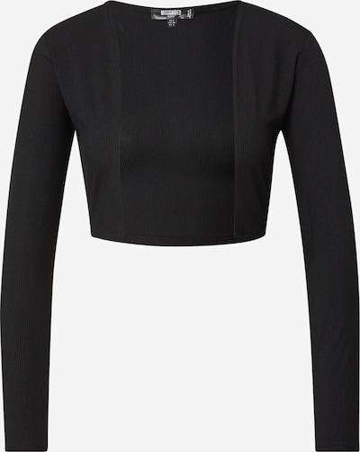 Missguided (Petite) Gebreid vest in de kleur Zwart, Productweergave
