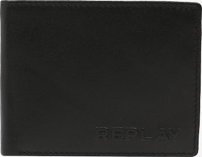REPLAY Portemonnaie in schwarz, Produktansicht