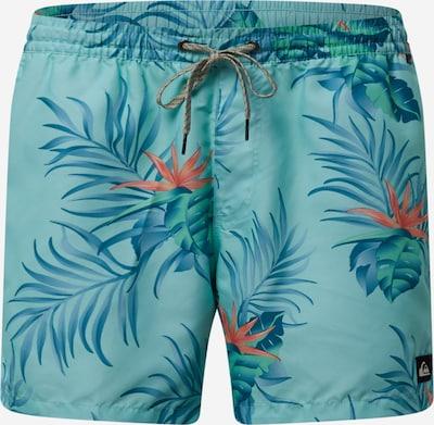 QUIKSILVER Szorty kąpielowe do kolan 'Paradise Express Volley 15' w kolorze niebieski / nefryt / jasnoczerwonym, Podgląd produktu