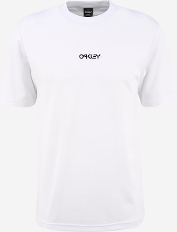 balts OAKLEY Sporta krekls 'ALL DAYS RASHGUARD'