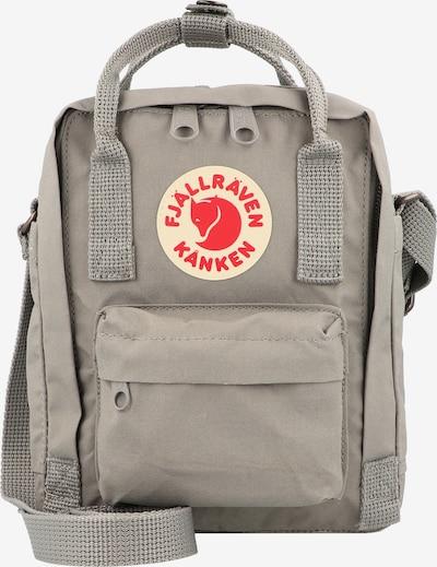 Fjällräven Umhängetasche 'Kånken' in grau / rot / weiß, Produktansicht