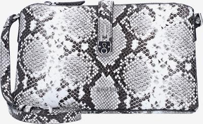 Calvin Klein Sac à bandoulière en gris / anthracite / blanc, Vue avec produit