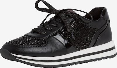 JANA Zemie brīvā laika apavi, krāsa - melns / balts, Preces skats