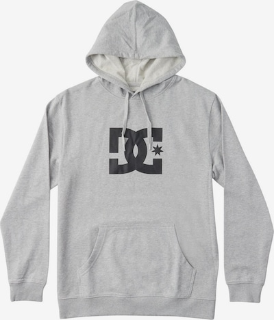 DC Shoes Sweatshirt 'Star' in grau / schwarz, Produktansicht